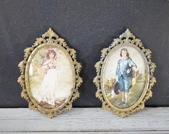Italian Metal Picture Frames