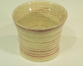 Bracelet Bowl, Red Apple Shino Glaze, Anklet Organizer, Handmade, Ceramic Holder, Home Decor, Pottery, MJS,  211