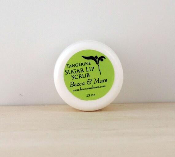 Lip Scrub - Tangerine Sugar Lip Scrub - Sugar Scrub