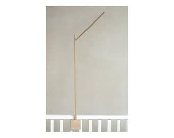 baby crib mobile holder / baby mobile arm / baby crib attachment