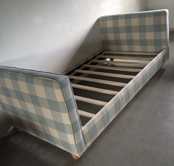 Custom Upholstered Daybed - Custom Built and Upholstered In ANY Fabric