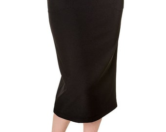 Brand New Vintage Style Black Retro Pencil Skirt Pin Up Rockabilly Style