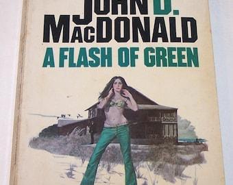 A Flash of Green by John D. MacDonald, paperback