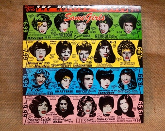 The ROLLING STONES - Some Girls - 1978 Vintage Vinyl Record Album...Multi-Colored Cover/9 Colored Schemes Exist