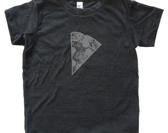 Pizza Slice Tshirt - Kids Foodie Pizza Shirt - Tee - Youth Boy Shirt / Super Soft Kids Tee Sizes 2T 4T 6 8 10 12