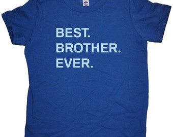 Big Brother / Little Brother T Shirt - Kids Brother Tshirt - Big Brother Shirt - 7 Colors - Sizes 2T, 4T, 6, 8, 10, 12 - Gift Friendly