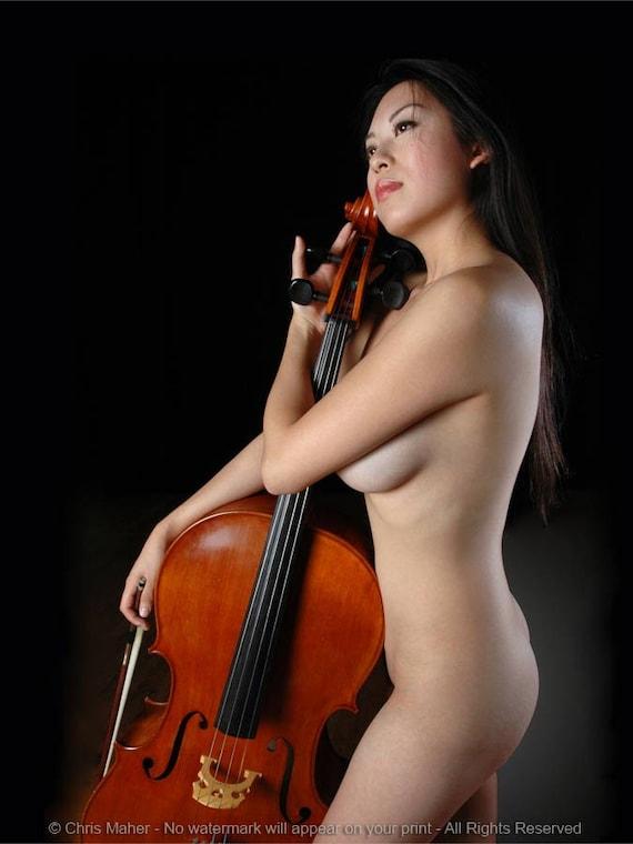 Nude Female Cello Player Porn 43