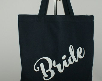 Brides Tote Bag Bridal Party Tote Personalized Tote Bag Brides Tote, Personalized Bag, Wedding Party Bag, Tote Bag Personalized