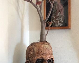 Zombie Head Planter