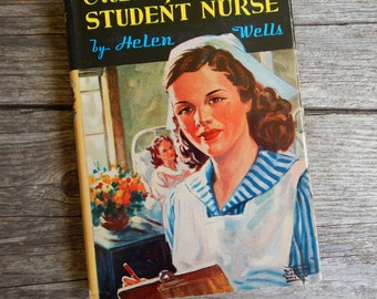1943 Cherry Ames Student Nurse by Helen Wells Hardcover with original jacket