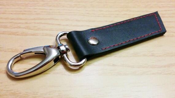 Leather keychain, leather keyring, mens keychain,strap keychain,leather tag, genuine leather, keychain, simple keychain,men keychain