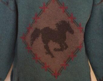Wild Horses Blanket Coat