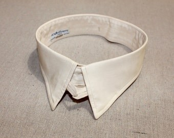 vintage 1920's - 30's -A. Sulka- Shirt collar. Silk - Size 16. Simply the best.