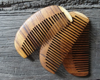 TEAK Wood Hair Comb Pocket Size Lightweight but Strong Good Health For Your Hair