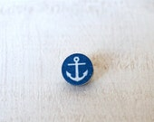 Nautical Anchor Tie Pin Sailors Anchor Tie Tack Wedding Tie Clip Grooms
