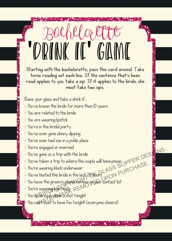 Exceptional image inside printable bachelorette party games