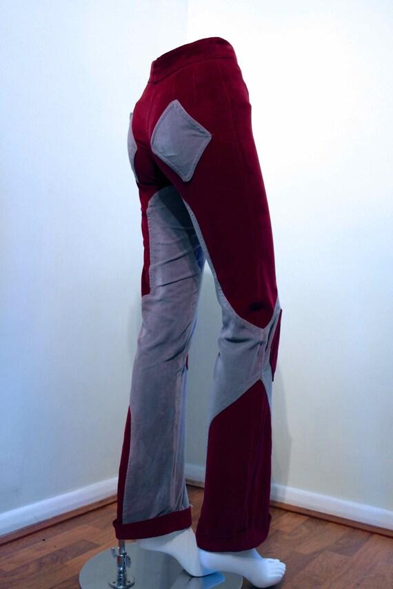 Rare MR. FREEDOM 1969 Baseball Pants designed by Diana Crawshaw // Pop Art Icon // Iconic British Fashion // Unisex