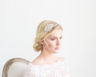 Crystal Rhinestone Headpiece Bridal Wedding Accessories