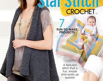 Star Stitch Crochet Pattern Book Brand New from Annie's Crochet