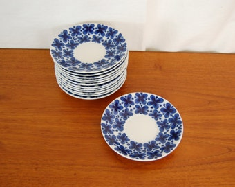 Rorstrand Mon Amie Saucers made in Sweden