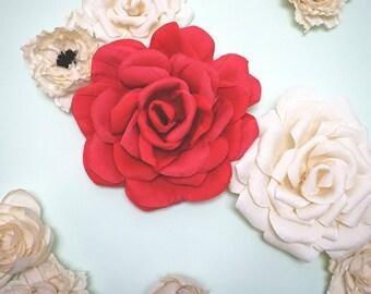"""24"""" Crepe Paper Rose"""