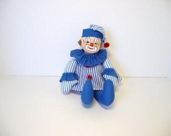 musical doll, baby clown doll, musical movement clown doll