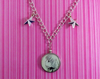 Chii from Chobits Jewelry Necklace - OOAK - Manga - Anime