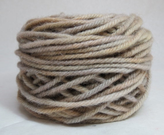 OPAL, 100% Wool, 2 ozs. 43 yards, 4-ply, Bulky weight and 3-ply Worsted weight yarn, already wound into cakes, ready to use, made to order.