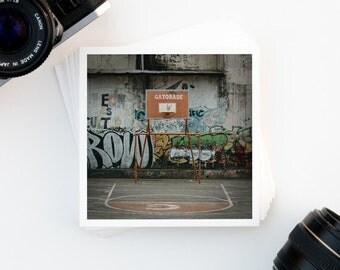 SALE, Travel Photography, Leon Nicaragua, Street Art, Basketball Decor, Wanderlust, Wall Decor, Affordable Wall Art, Inspiring Art Print
