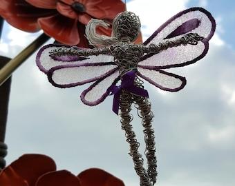 Star - Avebury Faerie - stainless steel wire sculpture