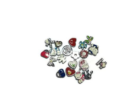 20 slide charms destash fit 8mm bracelet or pet by simplyrozi