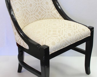 Pair of Vintage Regency Style Chairs