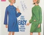 "Vintage 1960s Butterick Misses' Dress Pattern 4941 Size 12 (34"" Bust) UNUSED"