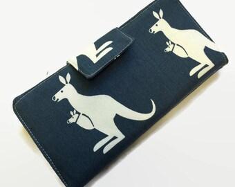 Women's Wallet, Credit Card Wallet, Credit Card Organizer, Wallets for Women,Kangaroo Wallet, Fabric Wallet,
