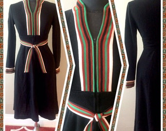 1970s Dress Size Small