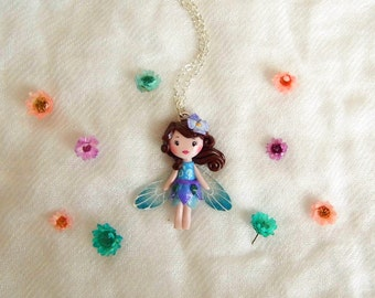 Fairy necklace. One of a kind.