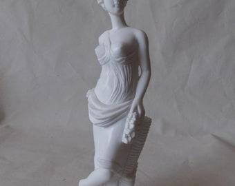 Carved Marble Greek Goddess Statue Figurine