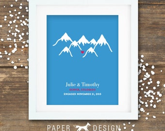 Colorado Proposal Print Engagement Gift Printable