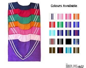 Sailor Collar, Sailor Fuku / Seifuku (制服) Adult Size Japanese School Uniform Collar Only