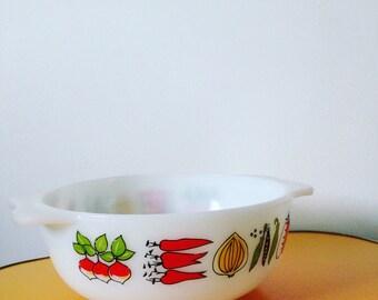 Vintage Pyrex Casserole Dish