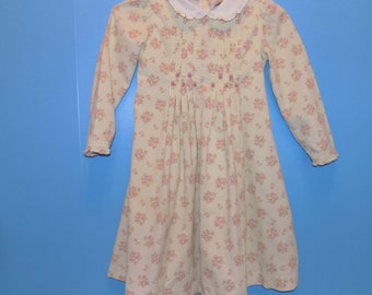 Sz. 5, Laura Ashley Baby Wale Corduroy Dress