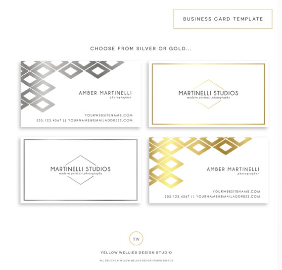 Business Card Template shop Template by