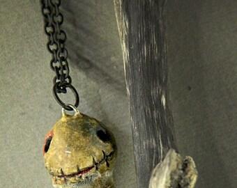 Wearable art, voodoo doll