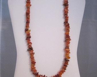 Carnelian necklace
