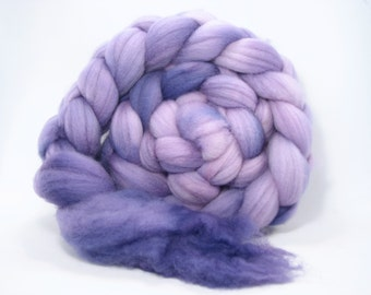 "4.8 oz Superwash Merino Top ""Grapeful Dead"""