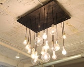 LED 18-bulb replacement package for Industrial Chandelier or Eclectic Reclaimed Barnwood Chandy
