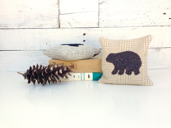 Circotm Decorative Pillow Mini Bear : Brown Bear Balsam Pillow Bear Decor Pillow Cabin by AwayUpNorth