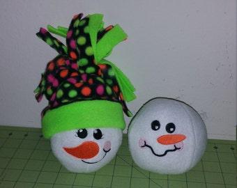 Indoor Snowball Fight!!!! Single Snowballs