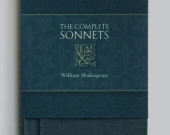 William Shakespeare, The Complete Sonnets, limited handmade edition