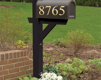 Custom Mailbox Number, Mailbox Decals, Mailbox Stickers, House Number Decal, Numbers for Mailbox - Up To 5 Numbers/Digits
